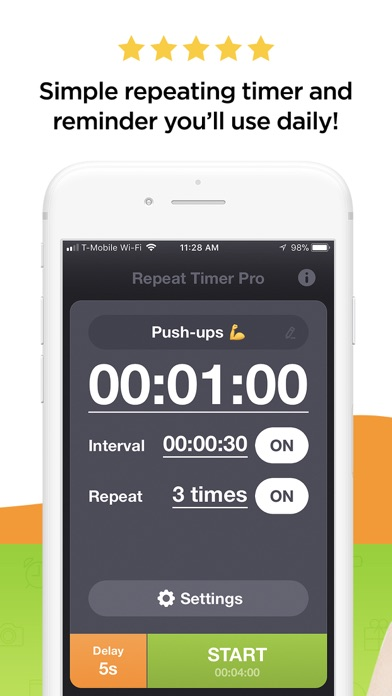 Repeat Timer Proスクリーンショット