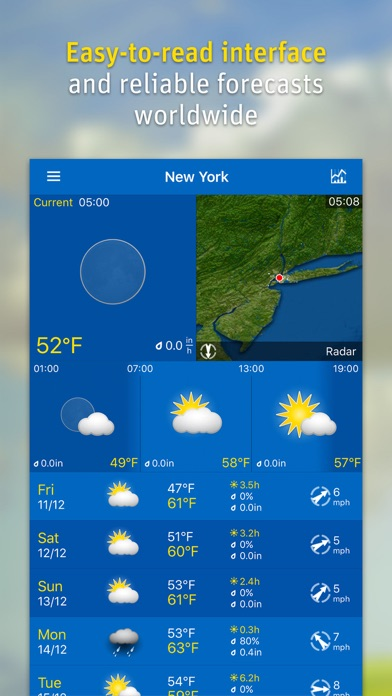 Weatherpro review screenshots
