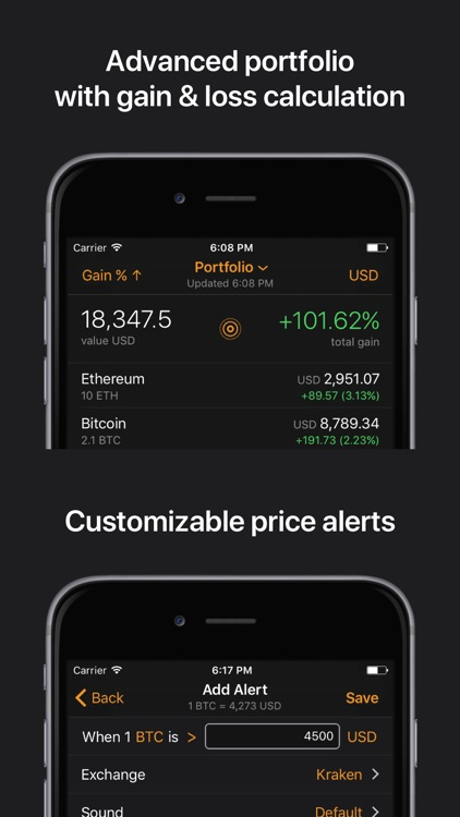Crypto Pro: Bitcoin Ticker screenshot-3