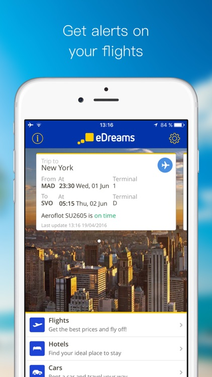 eDreams Travel: Flights, Hotels & Cars