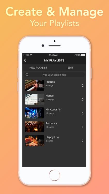 Video Player - Unlimited Music screenshot-6