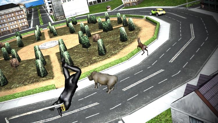 Angry Gorilla Simulator 2017: Frenzy Monkey Life screenshot-3