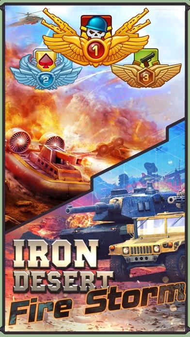 Iron Desert - Fire Storm Screenshot