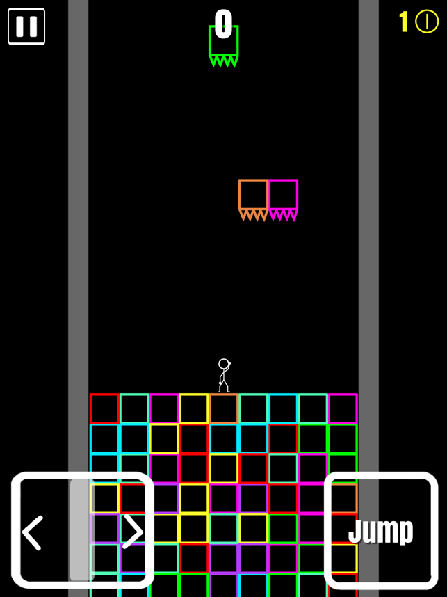 Block Fall, game for IOS