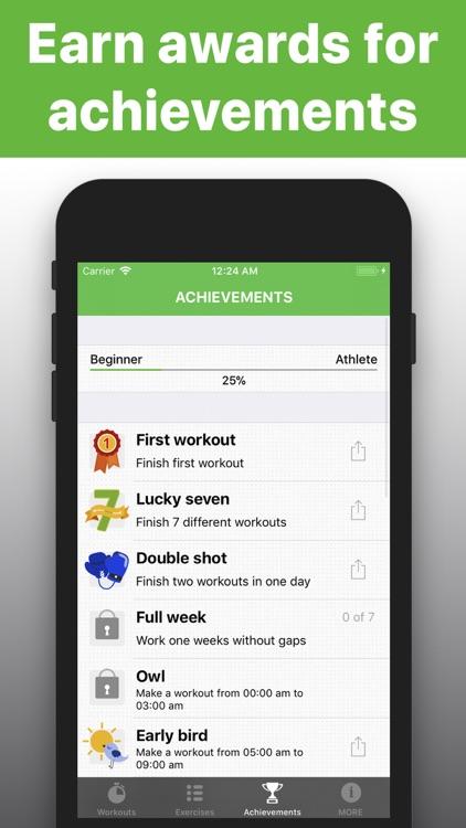 Squats - exercises trainings screenshot-3