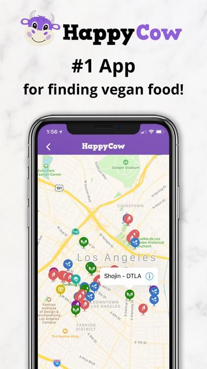 HappyCow Find Vegan Food screenshot-0