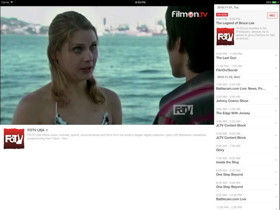 FilmOn Free Live Television - 1000 Channels & 200 000 Videos On Demand screenshot