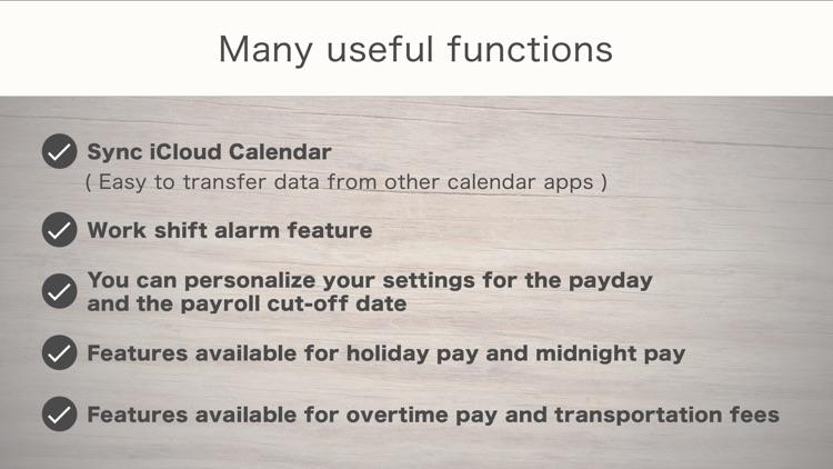 SHIFTAR: Shift Worker Calendar screenshot-4