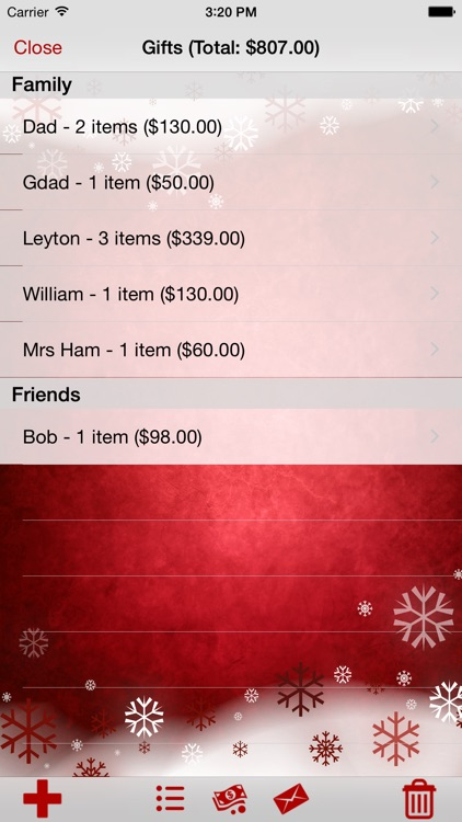My Christmas List screenshot-1