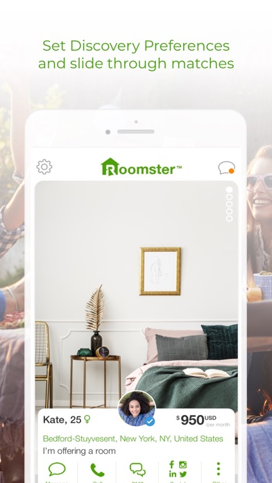 Roomster: Roommates & Rooms for Windows