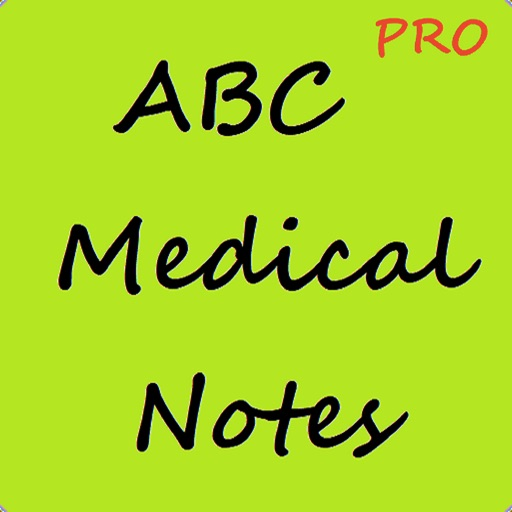 ABC Medical Notes Pro for Exam