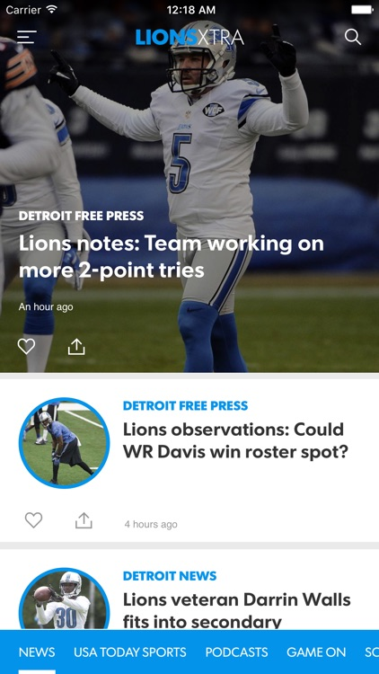 Lions Xtra screenshot-0