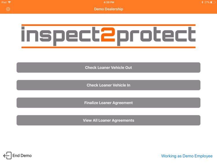 Inspect2protect Loaner By Kendrick Enterprises