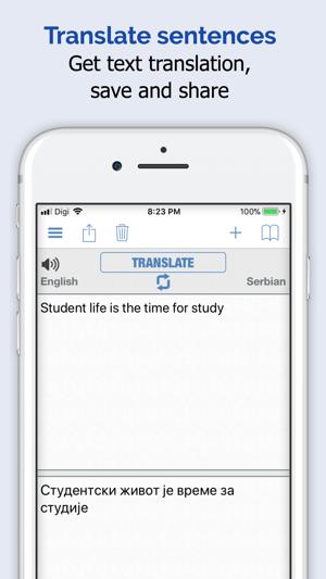 Serbian Dictionary Elite 4