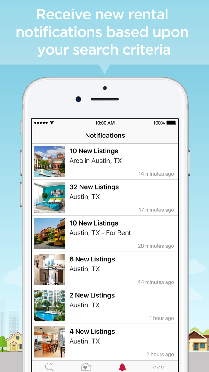 Realtor.com Rentals App Screenshot
