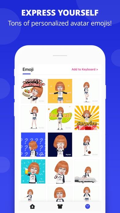 Myidol Emojiのおすすめ画像3