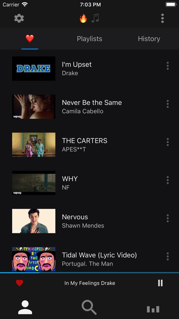 Trending Music Screenshot