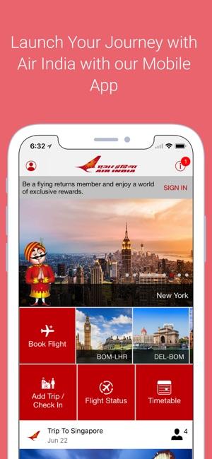 Air India en App Store