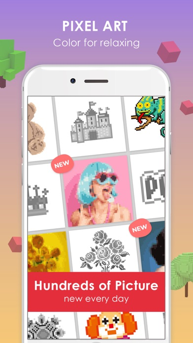 Pix Up - Color by Numbers screenshot 2