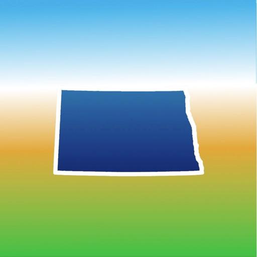 Aqua Map North Dakota Lakes