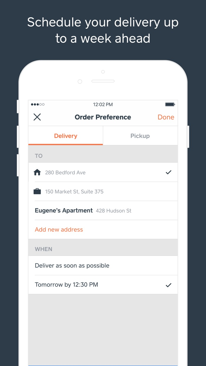 Caviar - Food Delivery Screenshot