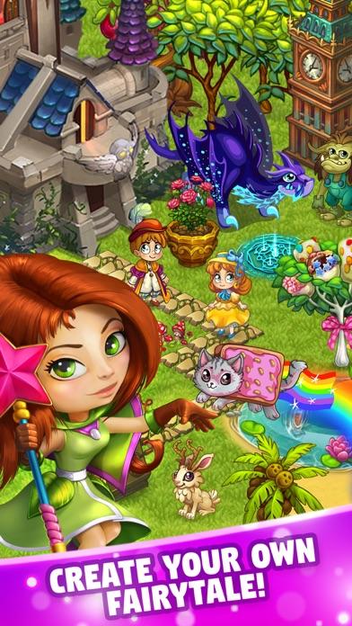 Fairy Farm: Magic Village Adventures Screenshot on iOS