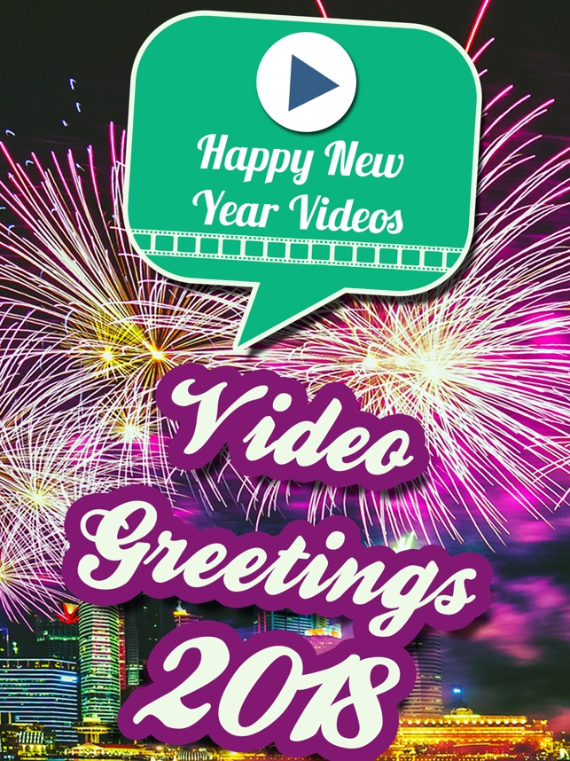 Video Greetings 2019 New Year On The App Store