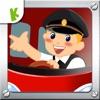 宝宝当公共汽车巴士司机-儿童拼图游戏