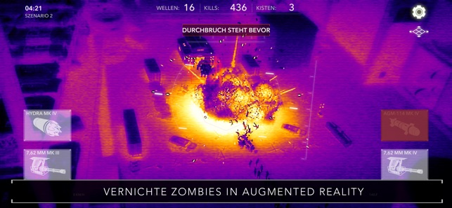 Zombie Gunship Revenant AR Screenshot