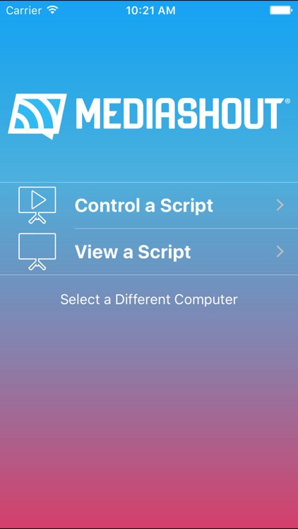 MediaShout Remote screenshot-1