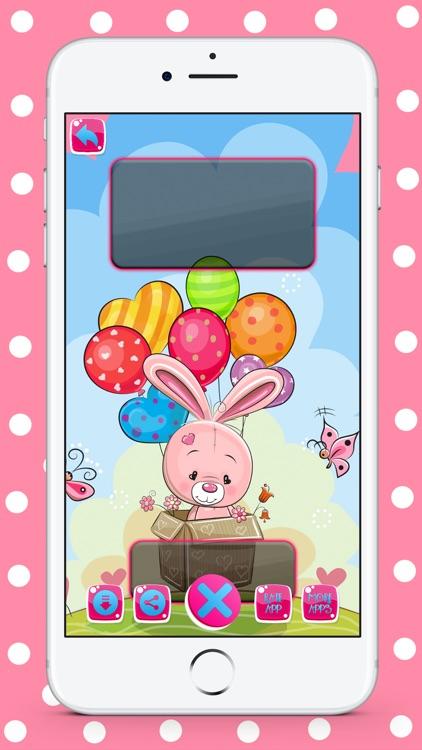 Cute Pink HD Wallpaper Maker screenshot-4
