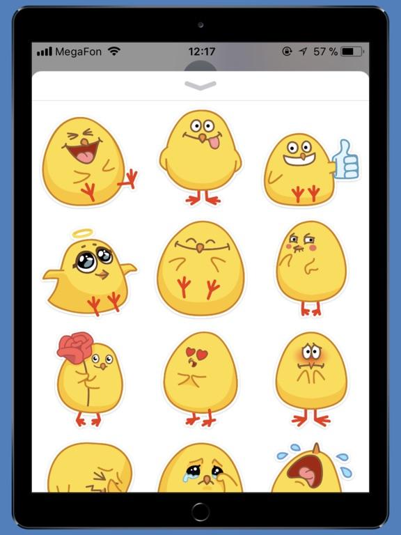 chickSTiK sticker for iMessage-ipad-0