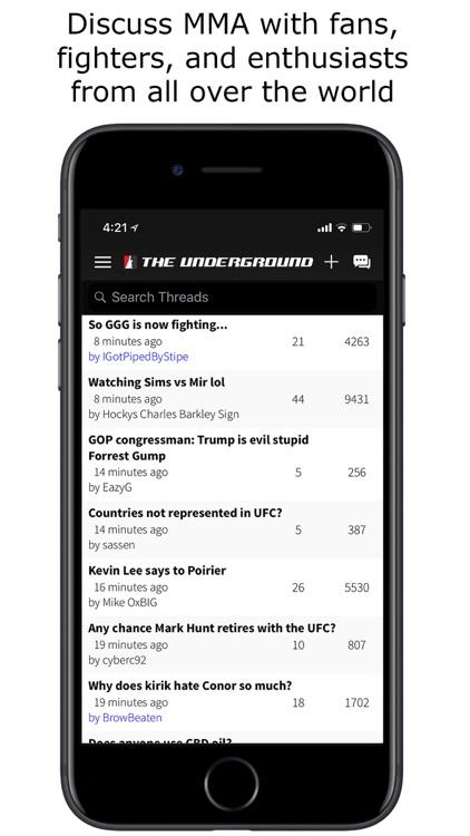 MMA Underground screenshot-4