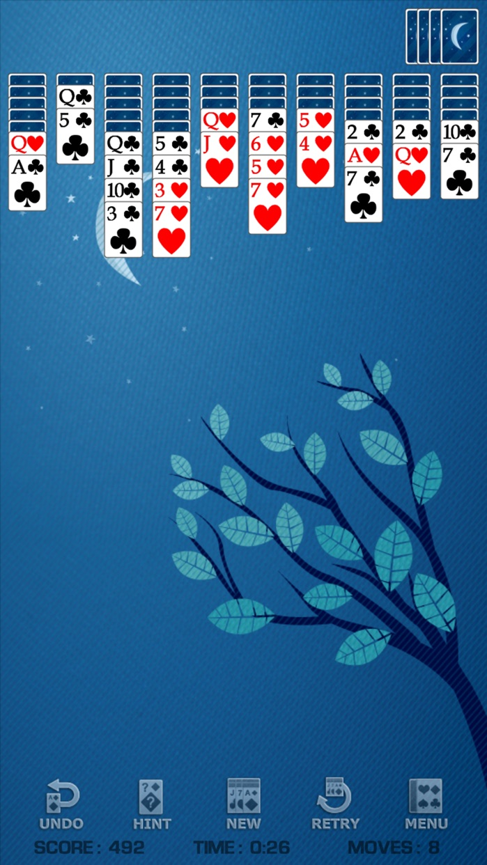 Spider Solitaire ▹ Screenshot