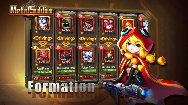 Metal Soldier:Tanks wars blitz screenshot-4