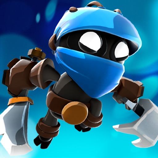 Badland Brawl app for ipad