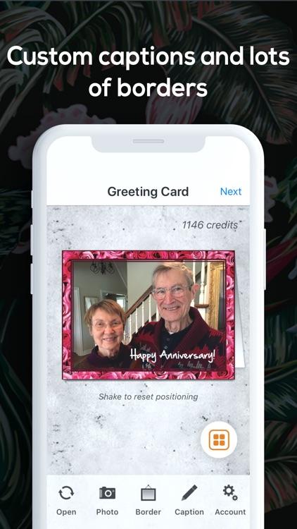 SnapShot Greeting Cards App screenshot-3