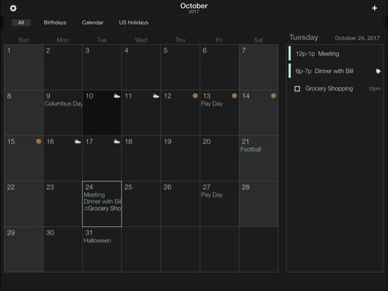 Screenshot #1 for The Grid - Calendar