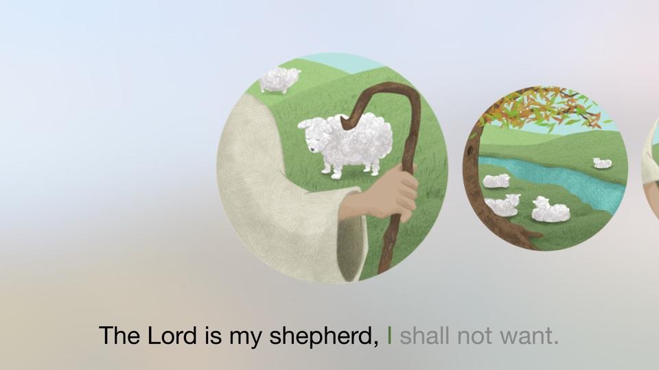 Screenshot #2 for Bible Memory Kids - TV