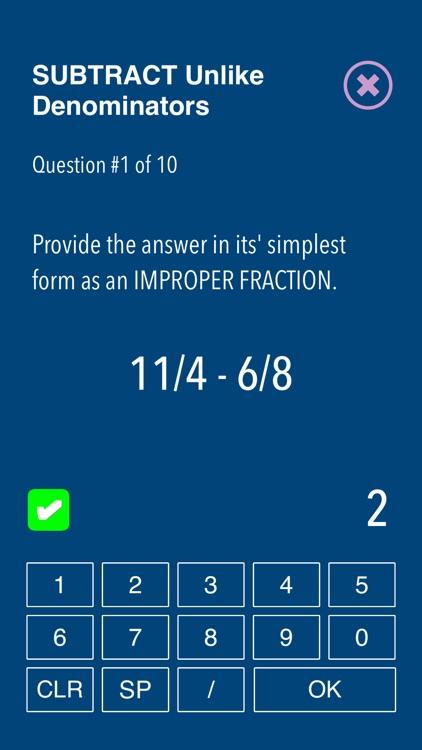 Practice Fraction puzzels screenshot-6