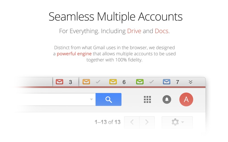 Kiwi for Gmail Screenshots