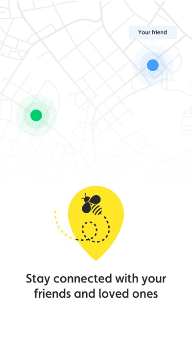 FindBee - Friend Locator Screenshot 1