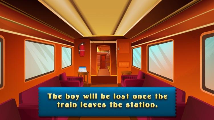 Escape Boy In Train 2 - start a brain challenge screenshot-3