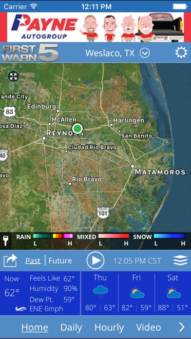 KRGV FIRST WARN 5 Weather for Windows