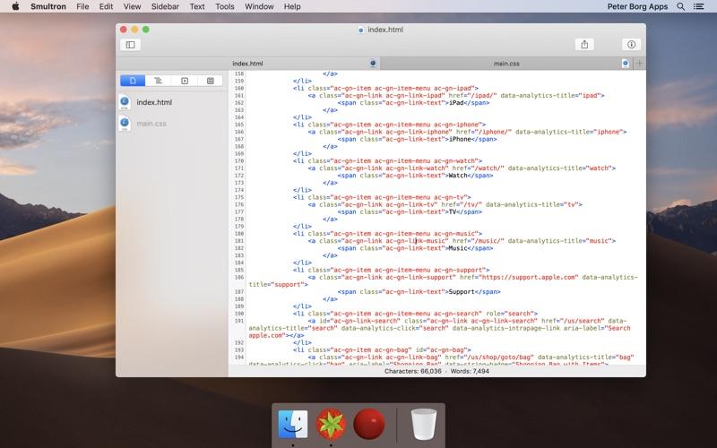 Smultron 11 - Text editor Screenshots