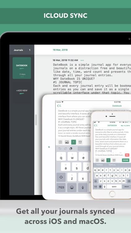 DateBook - Journal | Memoir screenshot-4