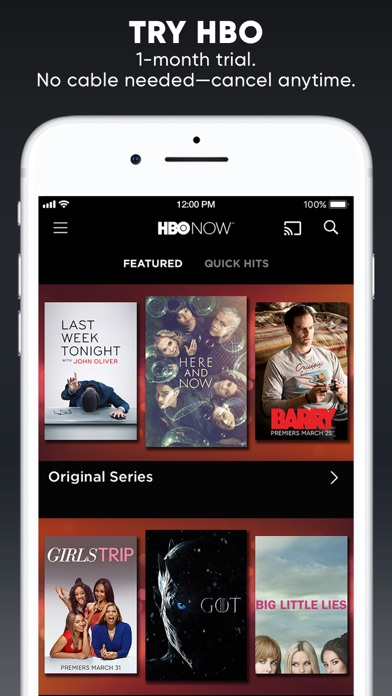 HBO NOW: Stream TV & Movies iPhone