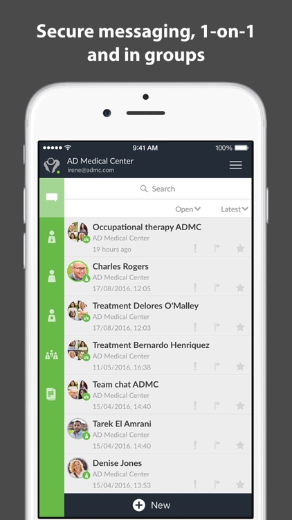 Alterdesk messenger screenshot-0