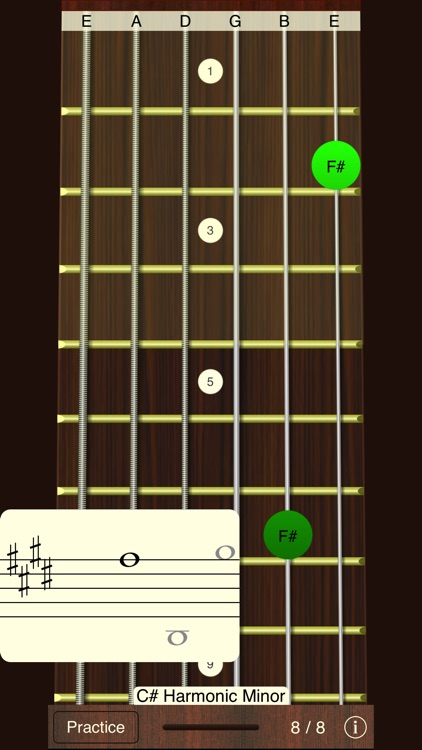 Guitar Sight Reading Trainer