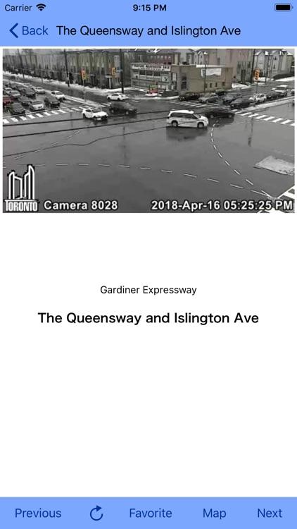 Toronto Traffic Cam